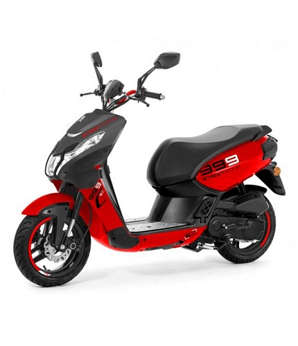 Scooter 2 temps mobylette cyclomoteur Peugeot Streetzone
